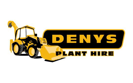 denys plant hire - LOGO DEVELOPMENT
