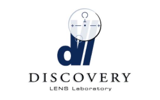 discovery lens lab - LOGO DEVELOPMENT