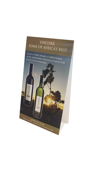 tolhuis tent cards - WINE INDUSTRY